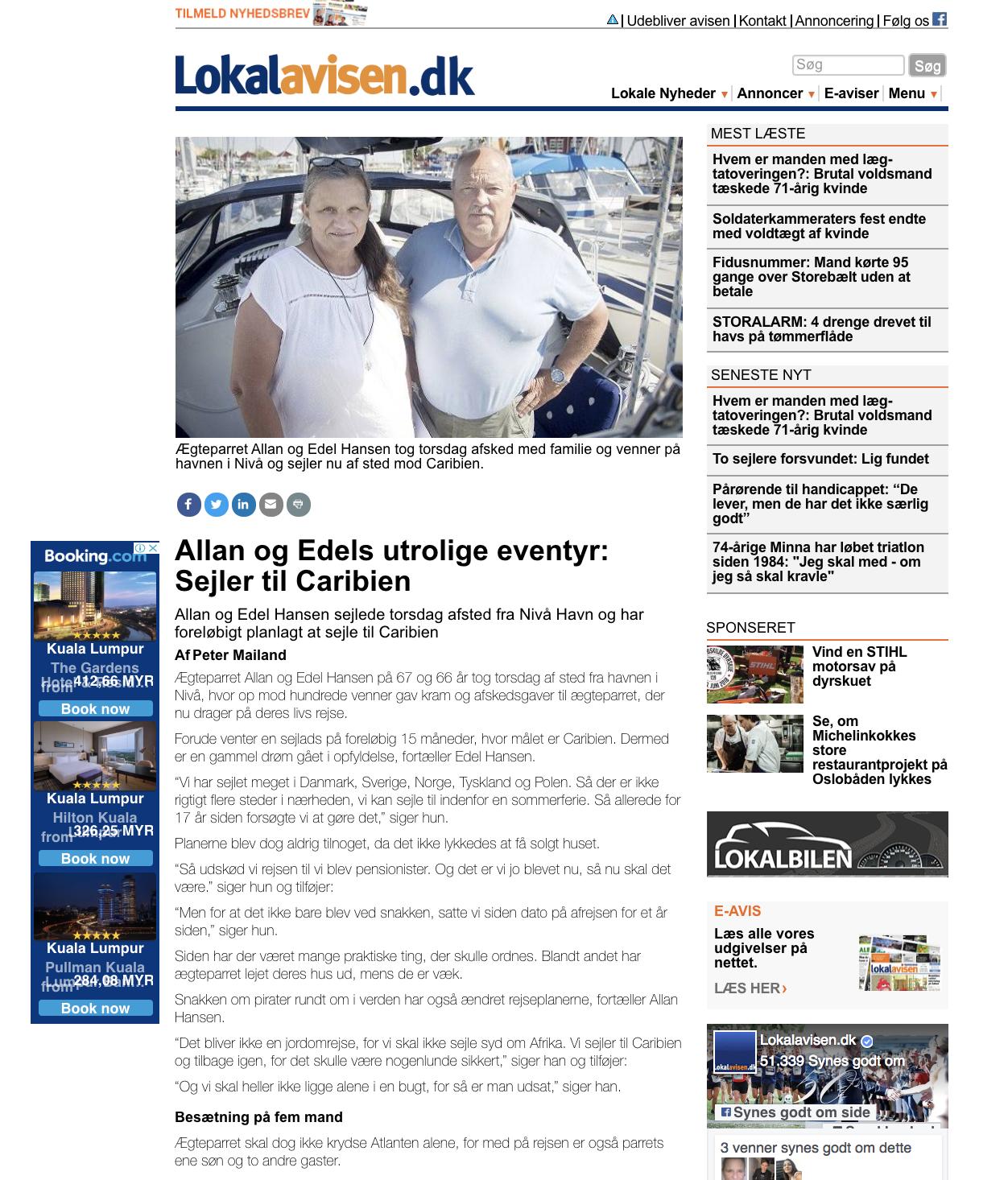 Artikel i Lokalavisen